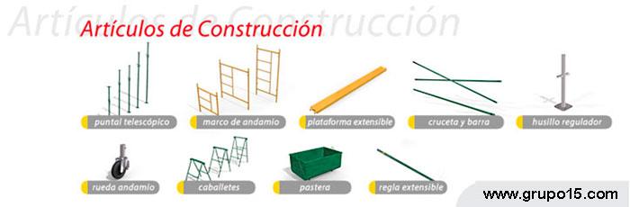 ARTÍCULOS CONSTRUCCIÓN