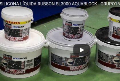 SILICONA LÍQUIDA RUBSON SL3000 AQUABLOCK EN GRUPO15