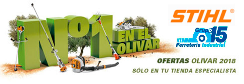 Folleto Olivar STIHL 2018 Ofertas Campaña Olivar Grupo 15