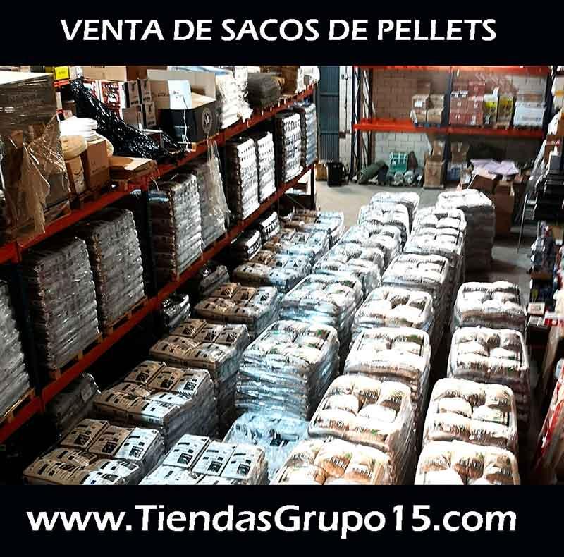 VENTA DE SACOS DE PELLETS EN DON BENITO, VILLANUEVA DE LA SERENA Y MIAJADAS GRUPO 15