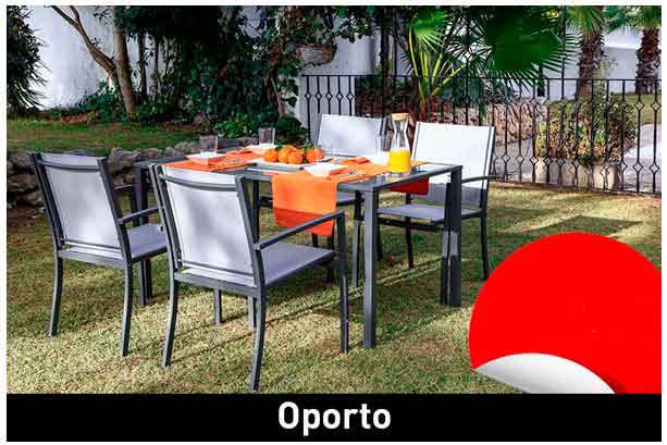 Conjunto para jardín Oporto