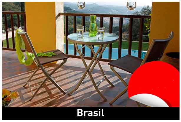 Conjunto balcón Brasil