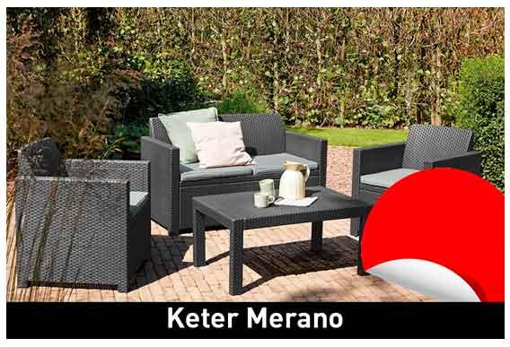Conjunto para jardín KETER Merano