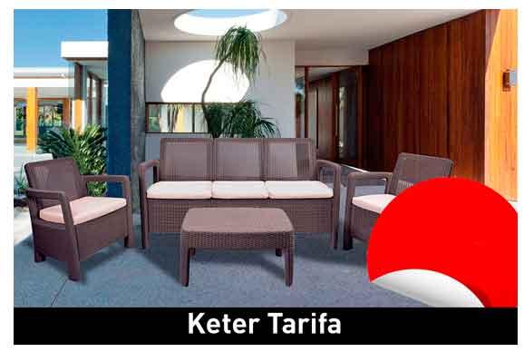 Conjunto para jardín KETER Tarifa