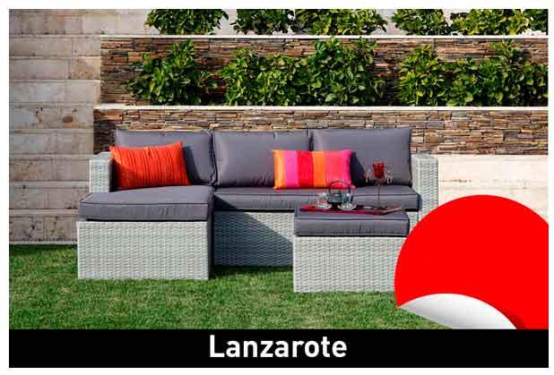 Conjunto para jardín Lanzarote